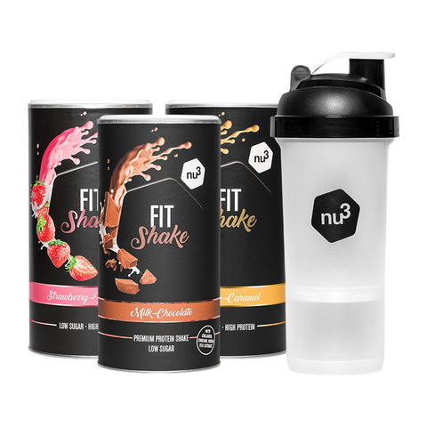 nu3 Fit Shake Pack dégustation