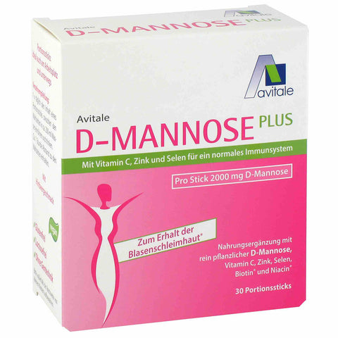 Avitale D-mannose Plus en sticks