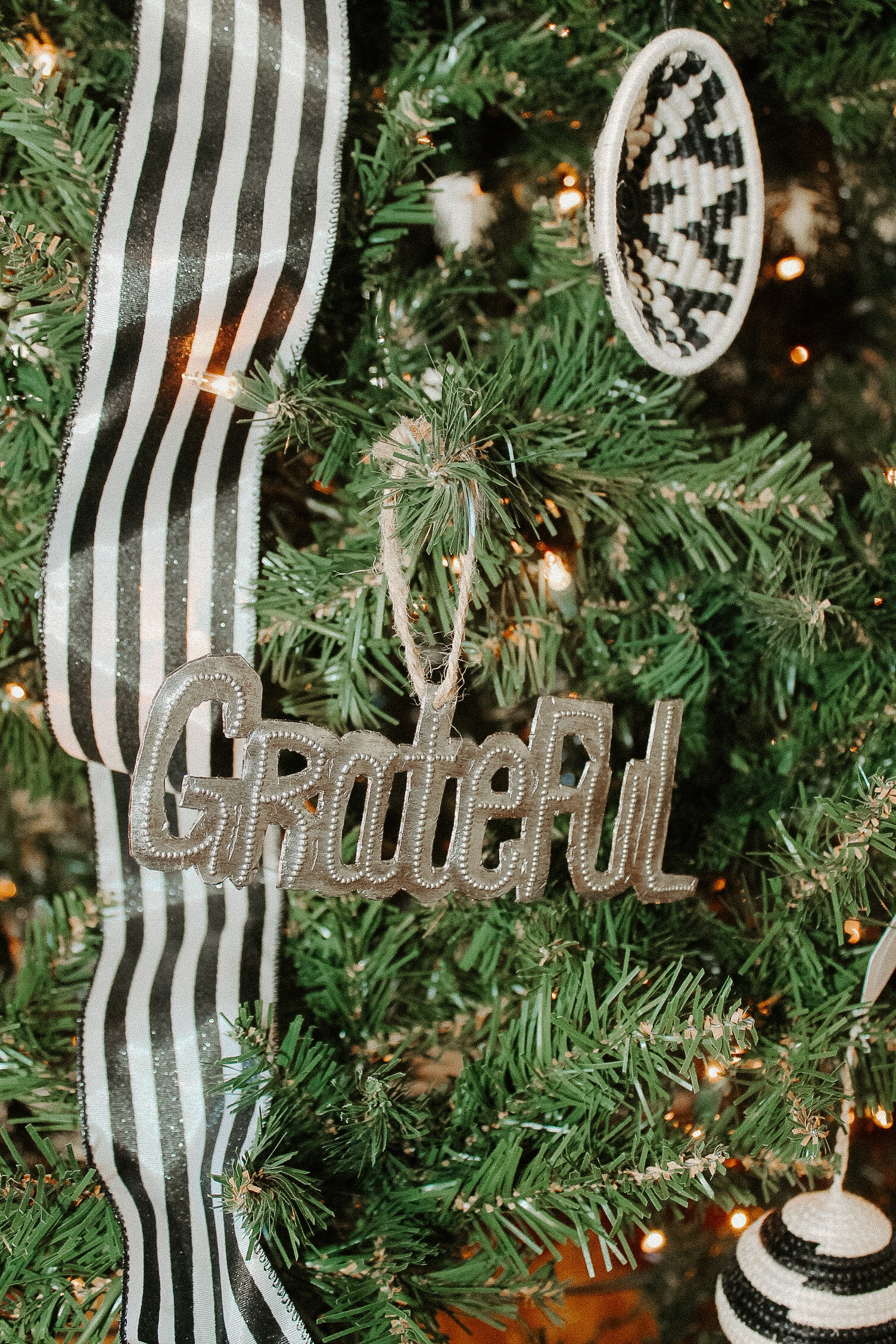 Haitian Steel Drum Word Ornament