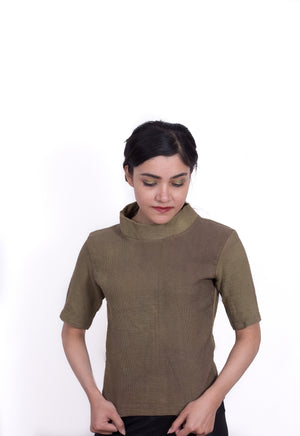 DETACHABLE SLEEVES KNITWEAR