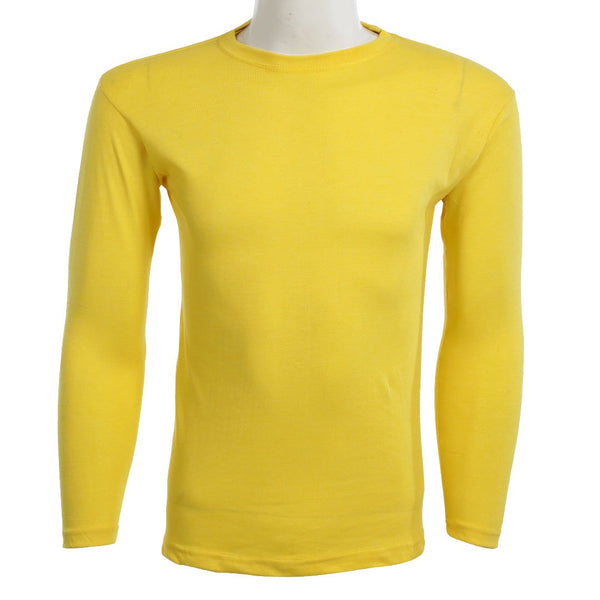 Teemoji Full Sleeves Yellow Shirt