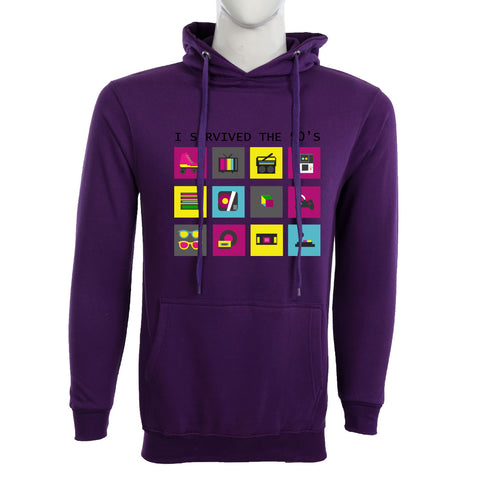 Teemoji I Servived the 90's Hoodie
