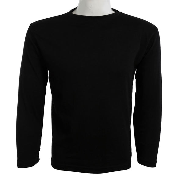 Teemoji Full Sleeves Black Shirt