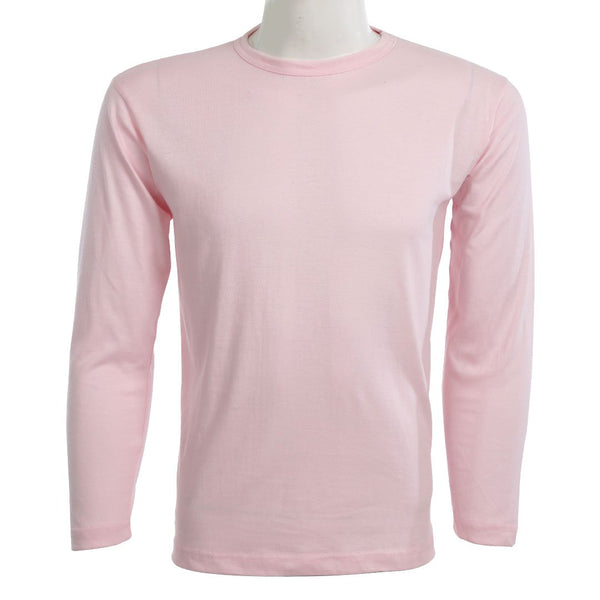 Teemoji Full Sleeves Pink Shirt