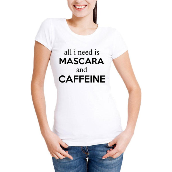 Teemoji All I Need Mascara And Caffeine