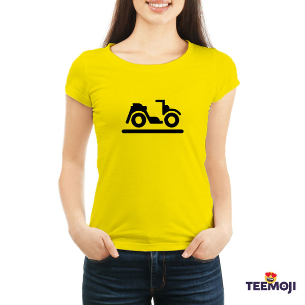 Teemoji Bicycle Yellow