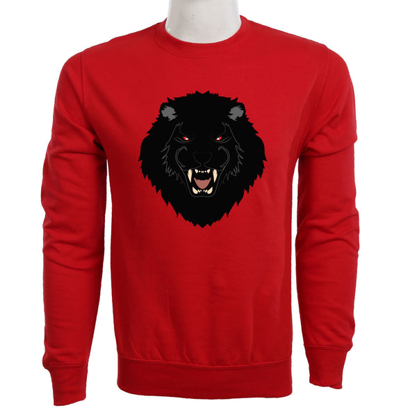 Teemoji Black Lion Sweatshirts