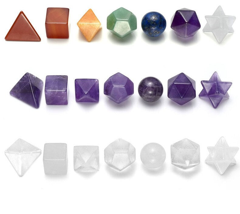 7PC Crystal Set