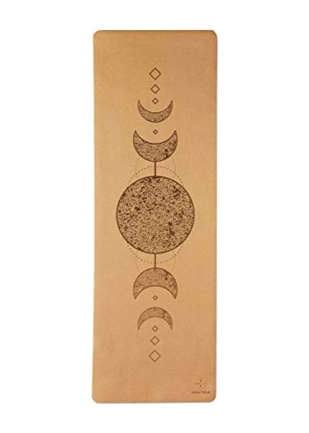 Cork Yoga Mat - Natural Rubber Bottom.