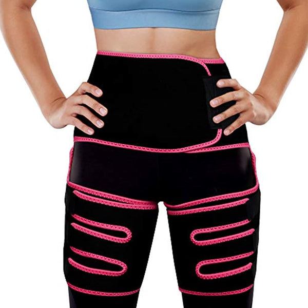 Adubor Body 3-in-1 Waist and Thigh Trimmer for Women