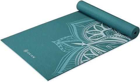 5mm Thick Non Slip Exercise & Fitness Mat  Deep Frost Point