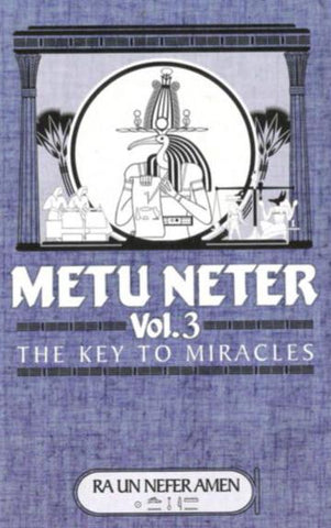 Metu Neter, Vol. 3 : The Key To Miracles Ebook