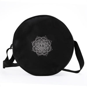 Mandala Flower Yoga Wheel Bag