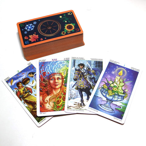 Wheel Year Tarot Cards ( 78 Cards)