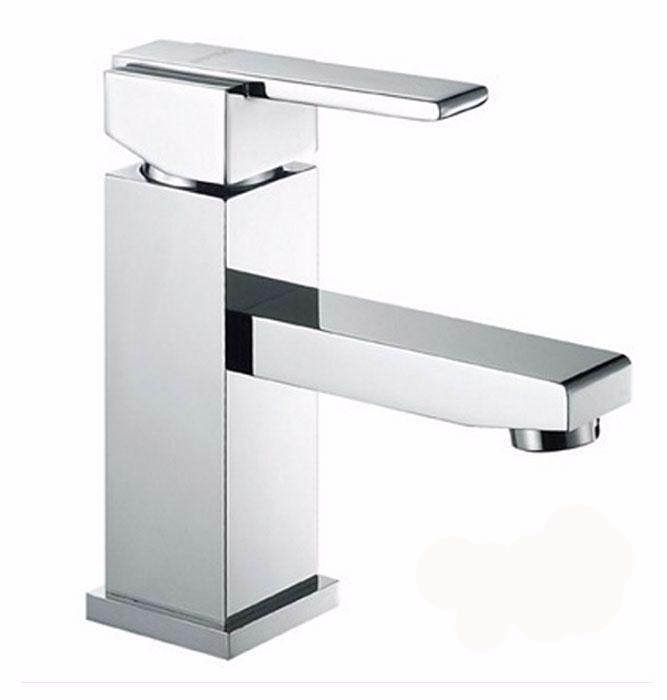 Aqua Piazza Single Lever Bathroom Vanity Faucet – Chrome