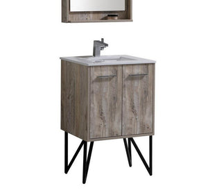 "24"" Forest, Nature Wood Bathroom Vanity"