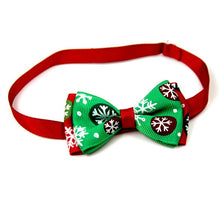 Load image into Gallery viewer, Christmas Holiday Bow Tie Collar for Cat Dog
