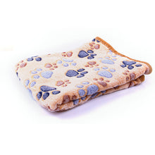 Load image into Gallery viewer, Winter Warm Thick Coral Fleece Blanket / Mat / Sleeping Bed For Small Medium Cats Dogs