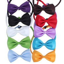 Load image into Gallery viewer, Plain Bow Tie Collar for Cat Dog