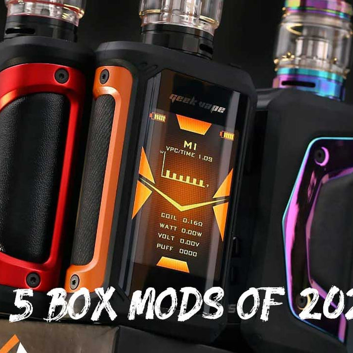 Top 5 Vape Box Mods of 2020!