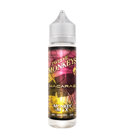 MacaRaz - Twelve Monkeys - 50ml Short Fill grey-haze.myshopify.com