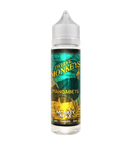 Mangabeys - Twelve Monkeys - 50ml Short Fill