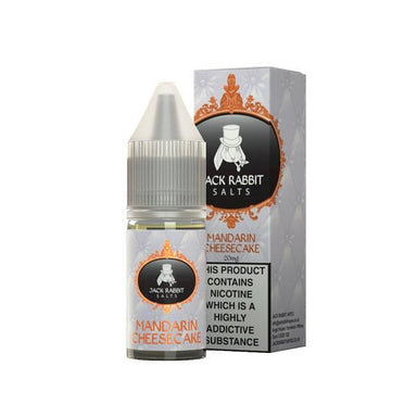 Mandarin Cheesecake Nic Salt E-Liquid by Jack Rabbit 10ml grey-haze.myshopify.com