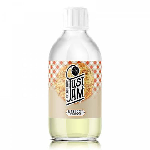 Apricot Crumble by Just Jam Short Fill 200ml