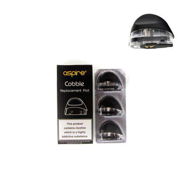 Aspire Cobble Replacement Pods Pack of 3 grey-haze.myshopify.com