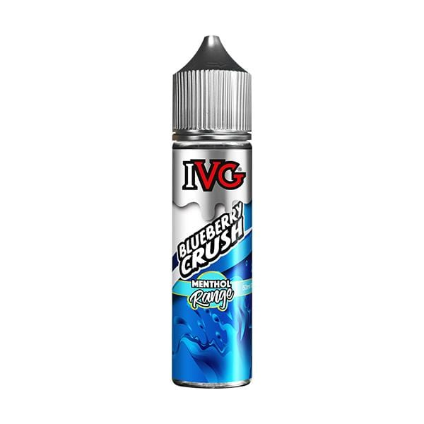 Blueberry Crush by IVG Menthol 50ml short fill