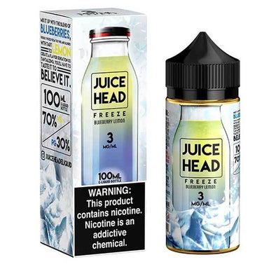 Blueberry Lemon Freeze ICE by Juice Head - Short Fill 100ml grey-haze.myshopify.com