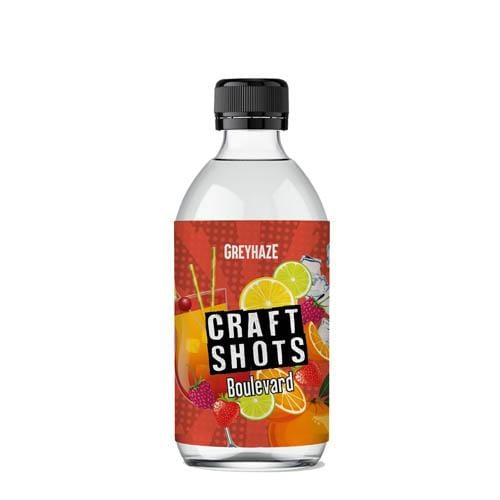 Boulevard – Craft Shots by Grey Haze 200/50ml Concentrate