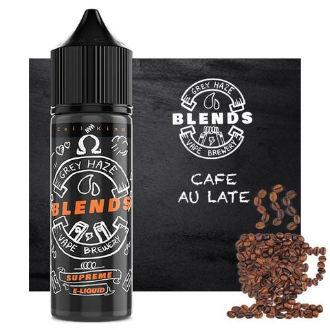 Cafe Au Lait - Grey Haze Blends – Short Fill