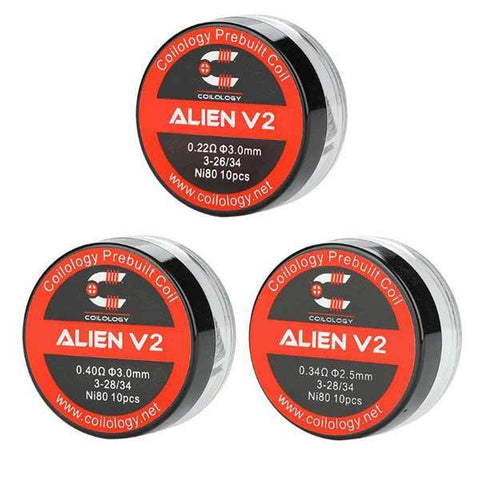 Coilology Alien V2 Coil 10pcs