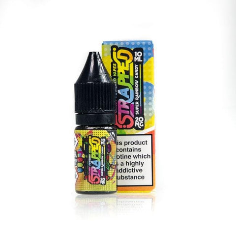 Rainbow Nic Salt by Strapped grey-haze.myshopify.com