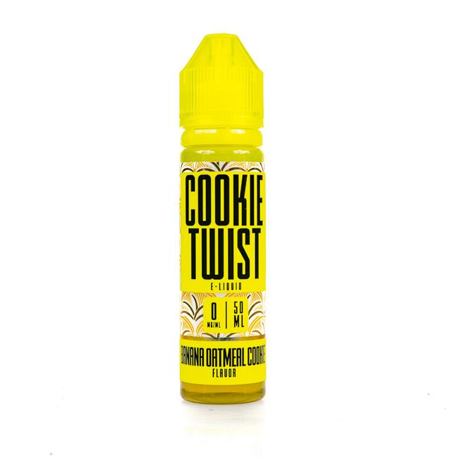 Banana Oatmeal Cookie by Cookie Twist Short Fill 50ml grey-haze.myshopify.com