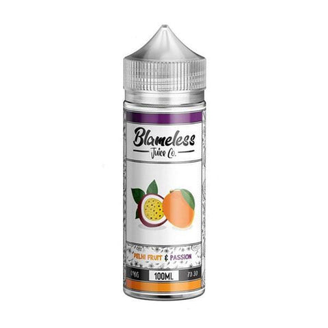 Delhi Fruit & Passion by Blameless Juice Co Short Fill 100ml grey-haze.myshopify.com