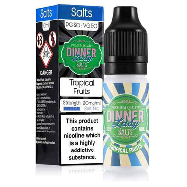 Tropical Fruits Salt Nic E-Liquid by Dinner Lady grey-haze.myshopify.com