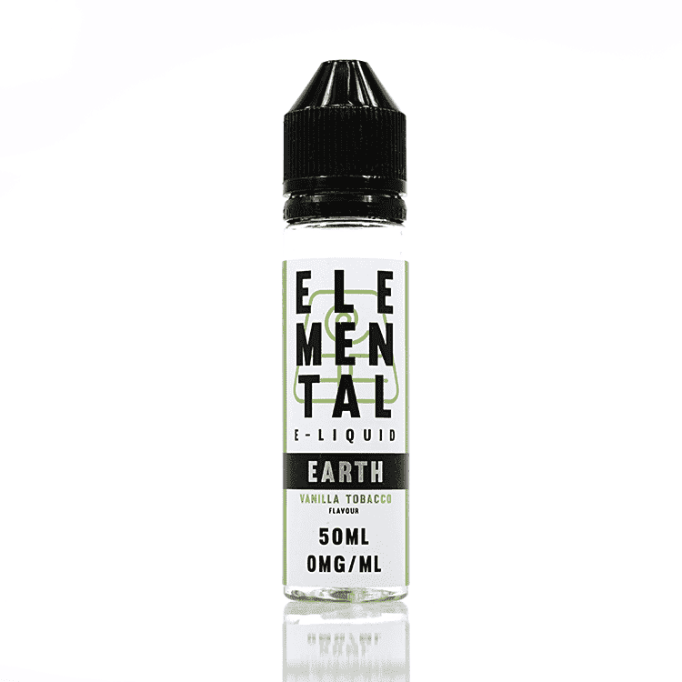 Elemental Earth - Vanilla Tobacco - 50ML - Short Fill grey-haze.myshopify.com