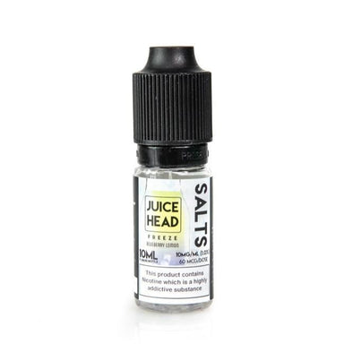 Blueberry Lemon Freeze ICE by Juice Head - Salt Nic E-Liquid 10ml grey-haze.myshopify.com