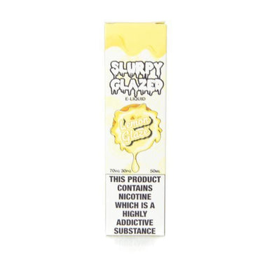 Lemon Glaze by Slurpy Glazed Short Fill 50ml grey-haze.myshopify.com