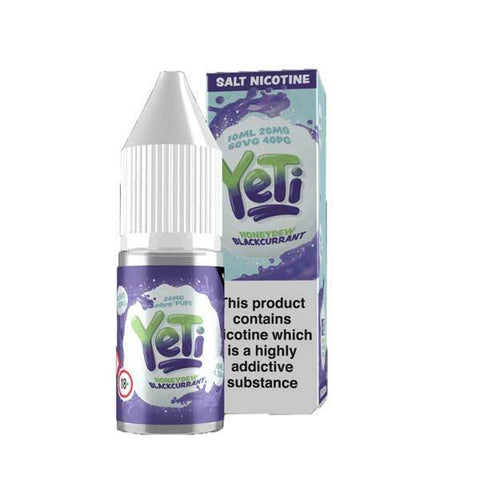 Honeydew Blackcurrant by Yeti Salts E-Liquid 10ml