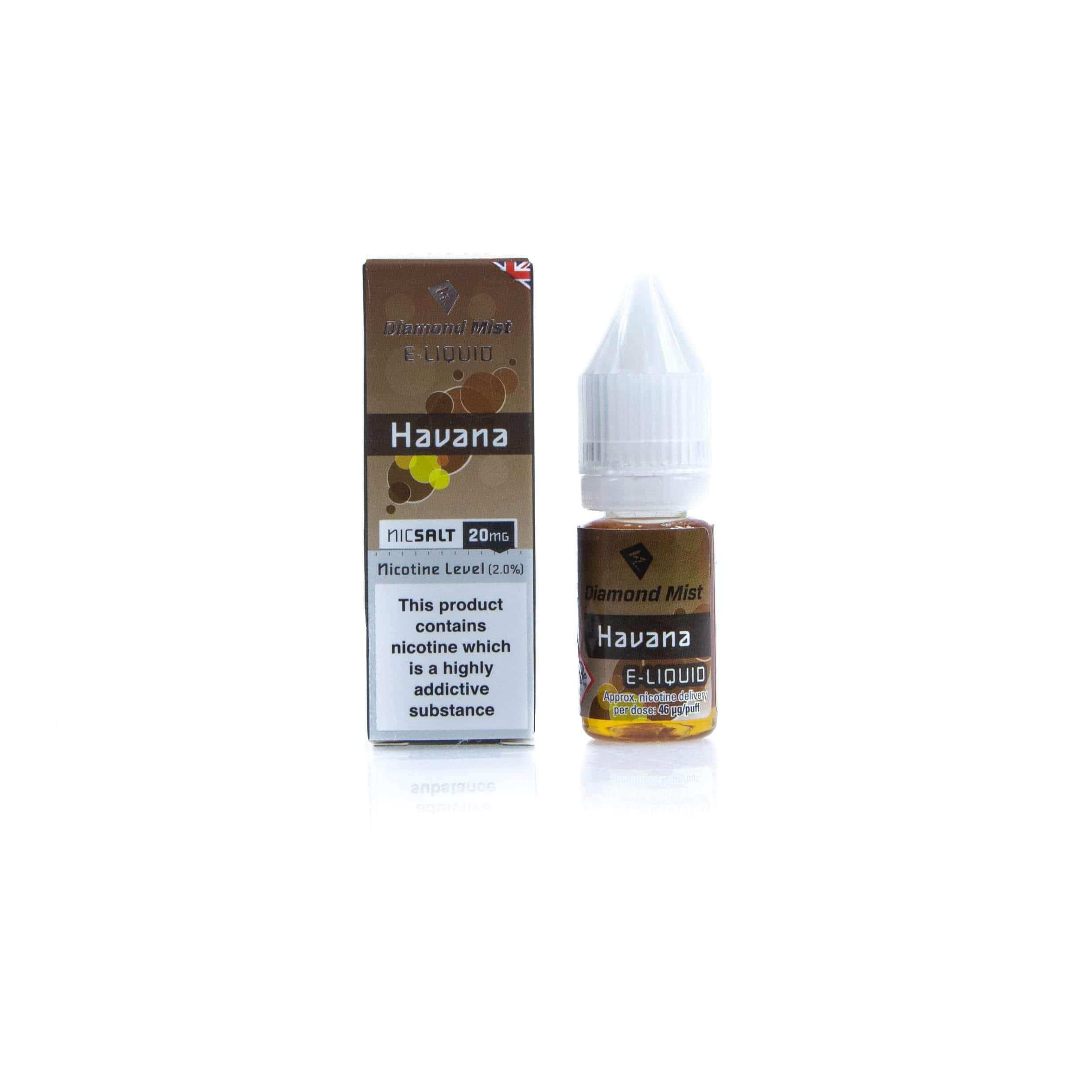 Diamond Mist E-Liquid East Havan@ Nic Salt grey-haze.myshopify.com