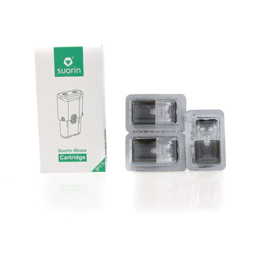 Suorin iShare Refillable Spare Pods 3 Pack grey-haze.myshopify.com