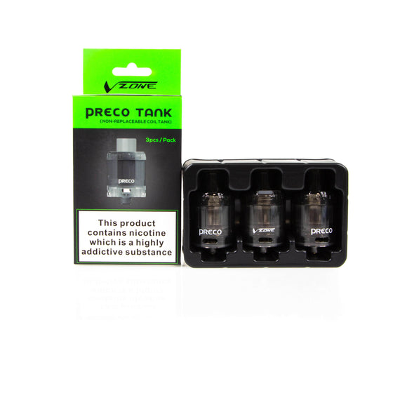 VZone Preco 2ml Disposable Tank 3 Pack