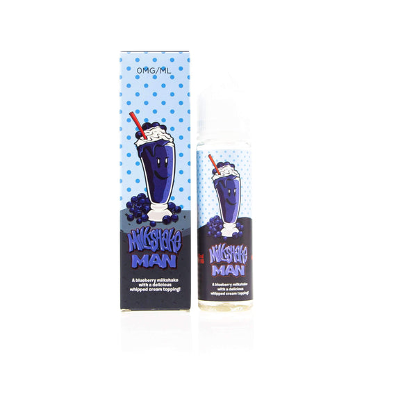 Blueberry Milkshake Man by Marina Vape Short Fill 50ml