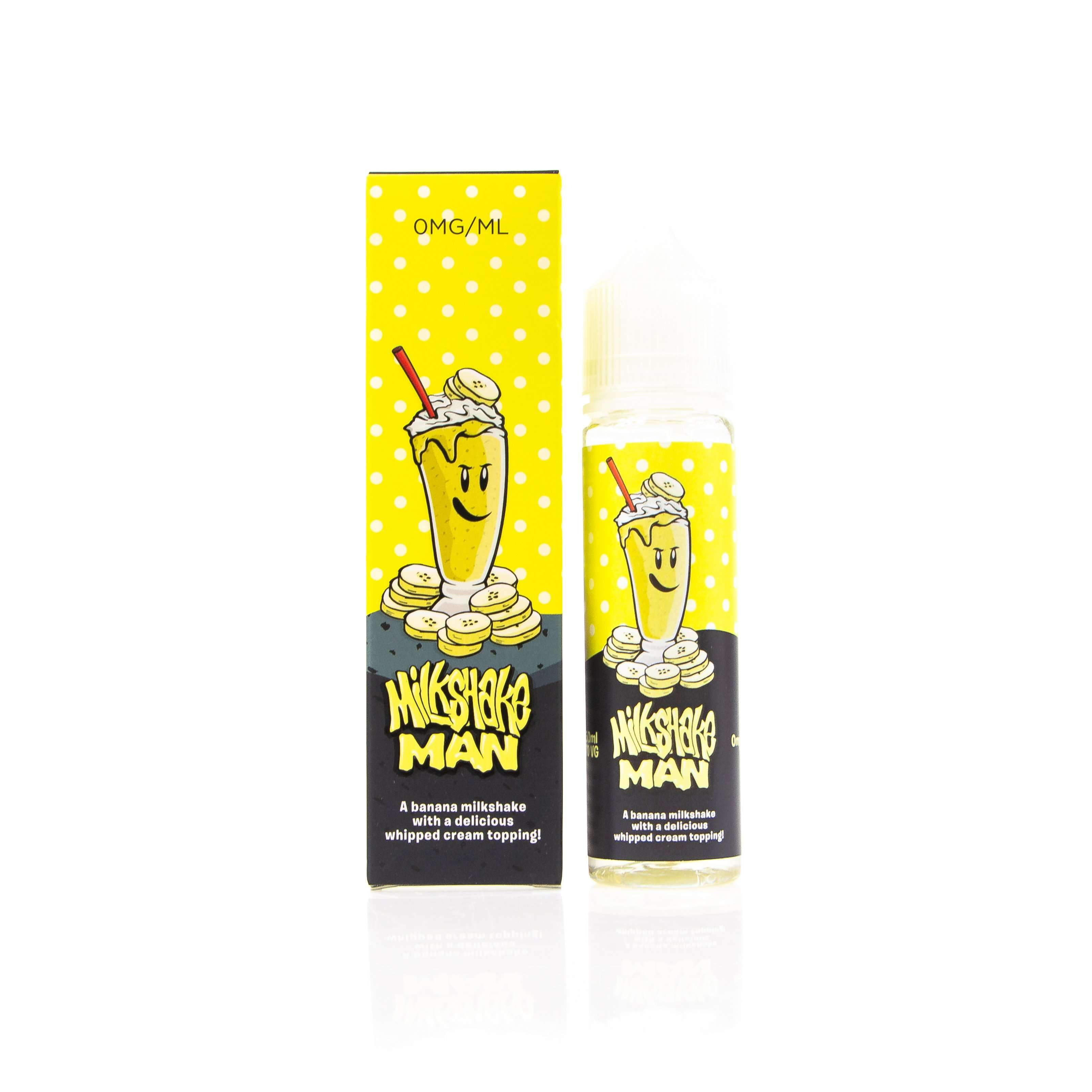 Banana Milkshake Man by Marina Vape Short Fill 50ml grey-haze.myshopify.com