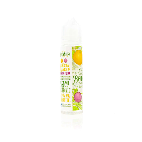 Valencia Orange & Passion Fruit by Botanics Short Fill 50ml