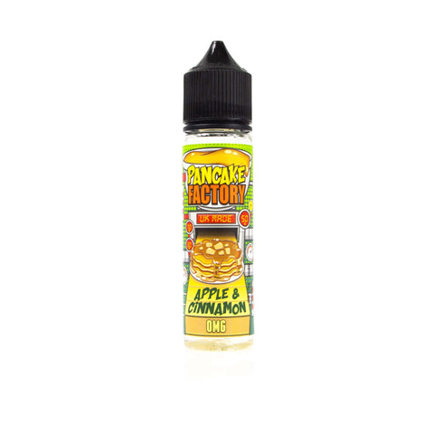 Apple & Cinnamon - Pancake Factory Short Fill 50ml grey-haze.myshopify.com