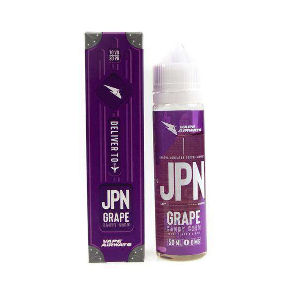 Vape Airways - JPN - Grape Candy Chew Short Fill 50ml